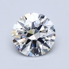 1.21-Carat Round Diamond Ideal G VVS2