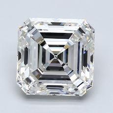 Recommended Stone #3: 2.60-Carat Asscher Cut Diamond