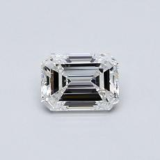 Recommended Stone #1: 0.50-Carat Emerald Cut Diamond