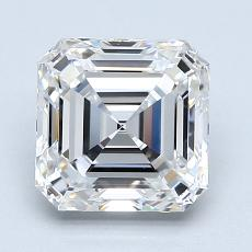 2.01 Carat 上丁方形 Diamond 非常好 F VVS2