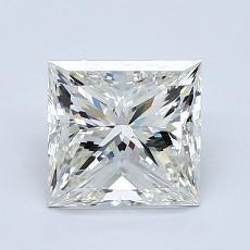Recommended Stone #1: 1,70-Carat Princess Cut Diamond