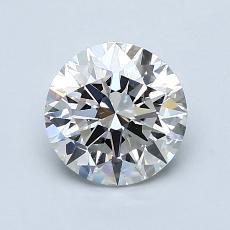 1.20 Carat 圆形 Diamond 理想 I VVS2