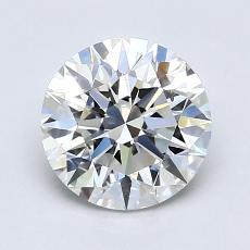 1.51-Carat Round Diamond Ideal F VS2