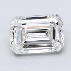 Recommended Stone #1: 1,70-Carat Emerald Cut Diamond