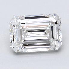 Recommended Stone #4: 1,70-Carat Emerald Cut Diamond