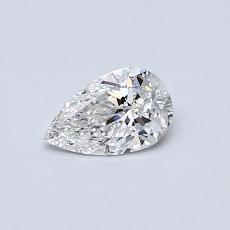 0.32 Carat 梨形 Diamond 非常好 F VS1