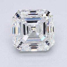 Target Stone: 2.00-Carat Asscher Cut Diamond