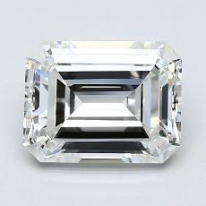 Recommended Stone #2: 2.13-Carat Emerald Cut Diamond