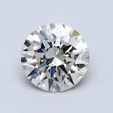 1,01-Carat Round Diamond Ideal J VS2