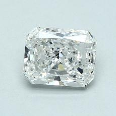 Recommended Stone #2: 0,94-Carat Radiant Cut Diamond