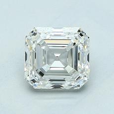 Recommended Stone #4: 1.31-Carat Asscher Cut Diamond