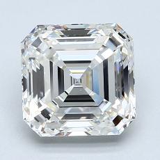 Recommended Stone #4: 2.13-Carat Asscher Cut Diamond