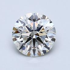 推荐宝石 4:1.21 克拉圆形切割