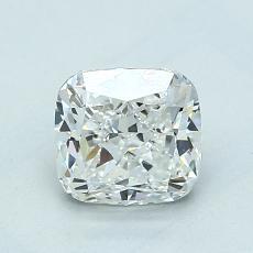 1.22-Carat Cushion Diamond Very Good G VS1