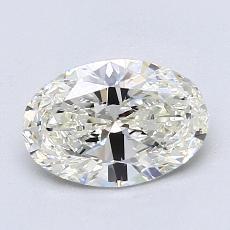 1.23-Carat Oval Diamond Very Good J VS1