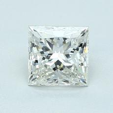 1.03 Carat 公主方形 Diamond 非常好 J VVS1