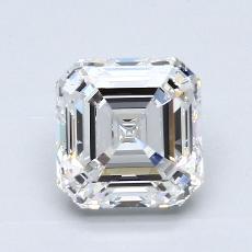 Recommended Stone #3: 2.58-Carat Asscher Cut Diamond