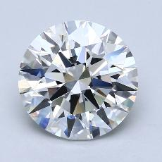 Recommended Stone #1: 4.02-Carat Round Cut Diamond