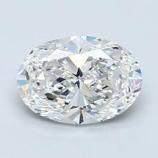 Piedra recomendada 4: Talla ovalada de 1.44 quilates