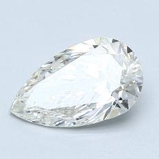 1.01-Carat Pear Diamond Very Good J SI2