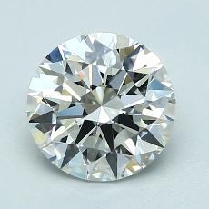 1,50 Carat Rond Diamond Idéale H VS1