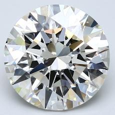 Target Stone: 4.06-Carat Round Cut Diamond
