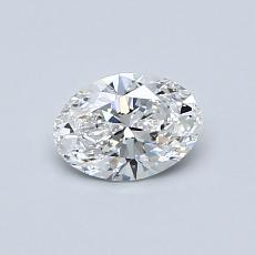 Recommended Stone #1: 0.53-Carat Oval Cut