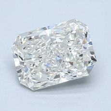 Recommended Stone #3: 1,30-Carat Radiant Cut Diamond