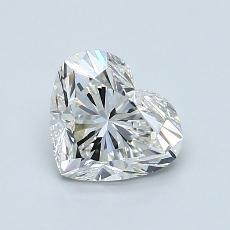 1.01 Carat 心形 Diamond 非常好 H VVS1