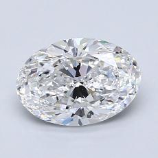 推薦鑽石 #2: 1.29  克拉橢圓形切割