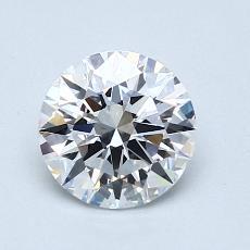 0.92 Carat 圆形 Diamond 理想 D VVS2