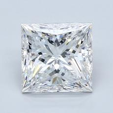 2.05-Carat Princess Diamond Very Good E VS1