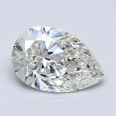Current Stone: 0.96-Carat Pear Shaped
