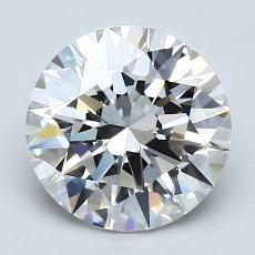 2.01 Carat 圓形 Diamond 理想 G VS1