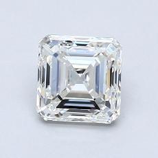 推薦鑽石 #2: 1.01 克拉上丁方形切割