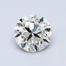 1,00 Carat Rond Diamond Bonne K VVS2