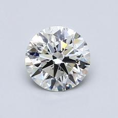 0,83 Carat Rond Diamond Idéale I VS2