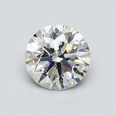 0.90 Carat 圆形 Diamond 理想 J VS1