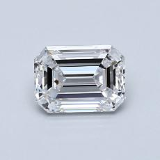 Recommended Stone #2: 0.81-Carat Emerald Cut