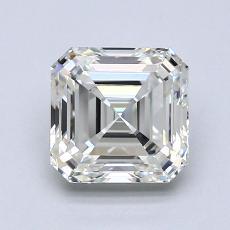 推薦鑽石 #3: 1.24 克拉上丁方形切割