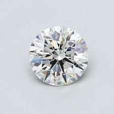 Piedra recomendada 4: Talla redonda de 0.70 quilates