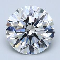 Recommended Stone #3: 2.71-Carat Round Cut