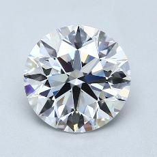 Recommended Stone #3: 2,71-Carat Round Cut