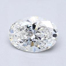 Recommended Stone #4: 1,40-Carat Oval Cut