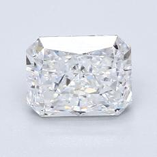 Recommended Stone #2: 1.32-Carat Radiant Cut Diamond