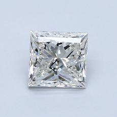 1.01-Carat Princess Diamond Very Good J VVS1