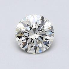 0.81-Carat Round Diamond Ideal K SI1