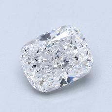 Pierre recommandée n°3: Diamant taille coussin 1,21 carats