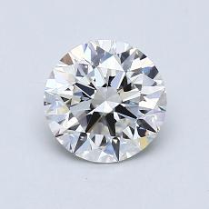 1.00 Carat 圓形 Diamond 理想 F VVS2