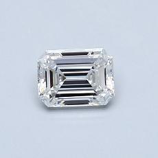 Pierre recommandée n°1: Diamant 0,46carat taille émeraude